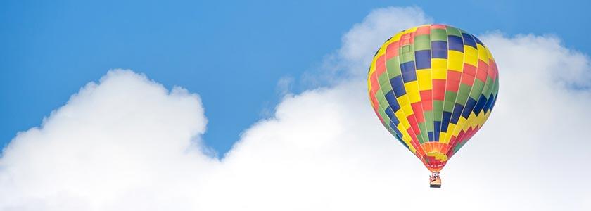 Skrydis oro balionu Vilniuje garantuos neįkainojamas akimirkas